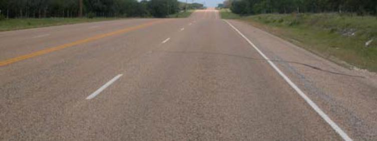 Highway lane conversion.